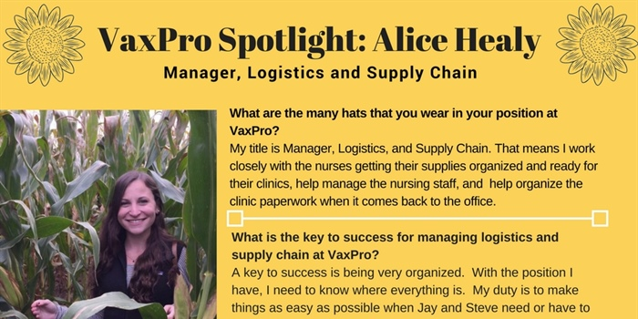 Staff Spotlight - Alice Healy
